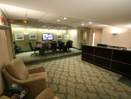 Reception and Conference Room